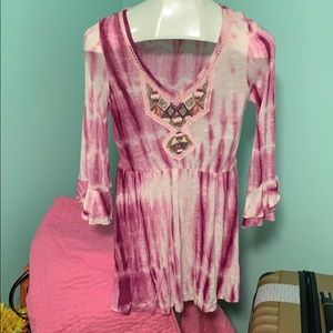Cute tunic top /dress by Free People!